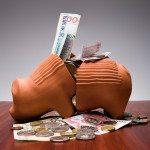 lycklig av pengar